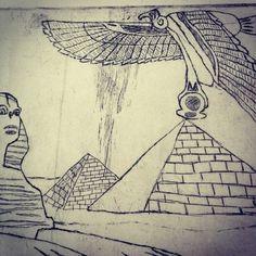 tumblr_lze98x9vmF1qaxajao1_500.jpg (500×500) #carving #intaglio #print #egyptian #drawing