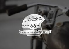 Route66 on Behance #logo #identity