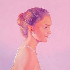Jen Mann | PICDIT #art #portrait #painting #color