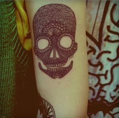 ..but i love you #tattoo #skull