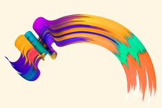 Santtu Mustonen | FormFiftyFive – Design inspiration from around the world #abstract #paint #3d