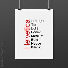 i love helvetica http://by.grafi.kr #helvetica #poster #typography