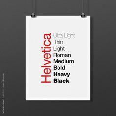 i love helvetica http://by.grafi.kr #helvetica #poster #typography