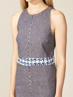 Denim Tweed Dress by Peter Som at Gilt