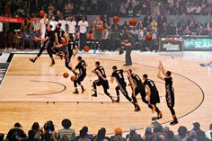 Check Out These Visuals of the NBA All-Star Slam Dunk Contest #zach #50 #2015 #10 #all-star #dunk #slam #lavine #contest #sequential #nba