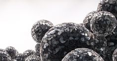 All sizes | Untitled (Mylar), 2011 | Flickr - Photo Sharing! #abstract #spheres #installation #art #organic