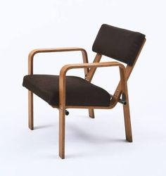 MoMA | The Collection | Josef Albers. Armchair (model ti 244). 1929 #josef #244 #albers #armchair #1929
