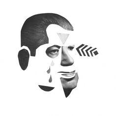 004.jpg (670×670) #album #design #graphic #cover #illustration #collage