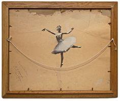 Banksy - Inside #stencil #art