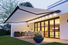Outdoor Space with Awning