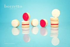 XMAS 12 by Bozzetto on Behance #butter #white #red #cookies