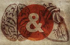 the heart #art #heart #brain #jacob henley