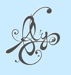 Fly © Engin Korkmaz 2007 | Flickr - Photo Sharing! #creative #flourish #design #floral #custom #type #typo #typography