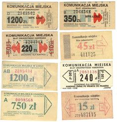 Vintage Polish packaging #polish #tickets #typography