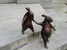 birdcagewalk:  Georgia Gerber bronzes (by kiltedlibrarian)