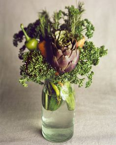 VEGATABLE_CENTREPIECE #vegetables #bouquet