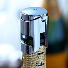 Champagne Bottle Stopper from Winco #tech #gadget #ideas #gift #cool
