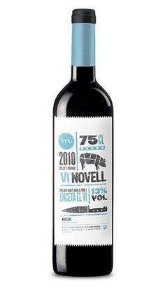 FFFFOUND! | Vi Novell 2010 : Lovely Package . Curating the very best packaging design. #illustration #wine