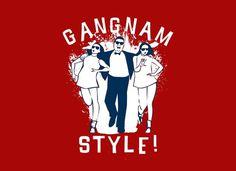 Gangnam Style #culture #tshirt #funny #pop