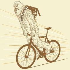 FFFFOUND! | tumblr_lp4owtacEu1ql2xn1o1_500.jpg (JPEG Image, 500x500 pixels) #chewbacco #fixie #skid #stop