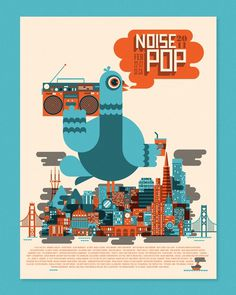 noisepop_800_1024 #ships #flat #illustration #skinny #colour