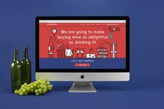 VinePair Leta Sobierajski #design #layout #graphic #website #homepage #web #UI