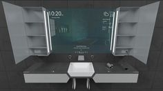 Reece Bathroom Innovation Award finalist Sanctus project by Rene Linssen - www.homeworlddesign. com (8) #interior #design #inovation