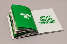 Accept & Proceed #typography #spread #brochure #clean #sans serif #bold