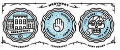 Welcome Badges #illustration
