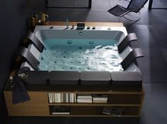 Art whirlpool for you bathroom #artistic #bathroom #furniture #art #bathtub