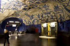 Stockholm Metro   Fubiz™ #stockholm #metro