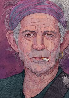 Rolling Stones Illustration