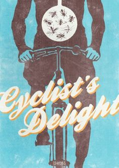 Baubauhaus. #delight #insects #ride #graphic #bike