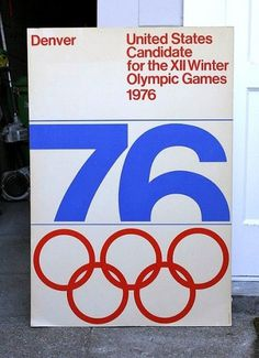 AisleOne - Graphic Design, Typography and Grid Systems #olympic #1976 #denver #76 #games #typography