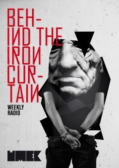 Behind The Iron Curtain | vbg.si - creative design studio #umek #flyer #design