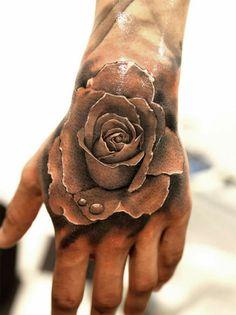 45+ Eye-Catching Tattoos on Hand #hand #tattoos