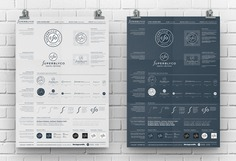 """Logo Guidelines Poster - Illustrator Template for Free Download by The Logo Smith"""