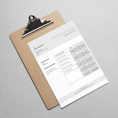 Business Invoice Invoice Template Classic Invoice | Etsy