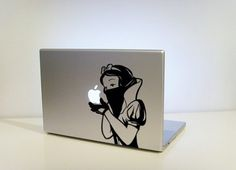Snow's Revenge by vinylville on Etsy #computer #apple #vinyl #sticker #mac