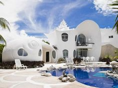 Conch Shell House (Isla Mujeres, Mexico) #building #architecture #house #interesting