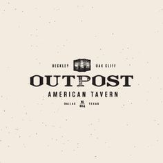 Lead Image #logo #outpost #worn