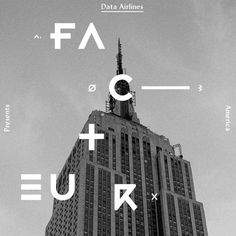 FFFFOUND! | Erik Jonsson #letters #white #diffuse #black #building #and