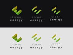 Clean Energy Logo Exploration #branding #logo #identity