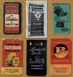Vintage American memo graphics | Field Notes