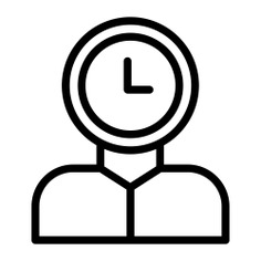 See more icon inspiration related to time mind, time and date, productivity, mind, user, waiting, head, time, hours and clock on Flaticon.