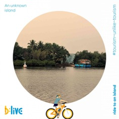 Venture beyond the typical beaches and head to an island where time slows down. Ride through the patches of fields, mangroves, churches, temple sites and beautiful houses on smart and savvy, eco-friendly e-bikes. If you are looking for untouched beauty, book your escape tour with b:live. Call or WhatsApp at 📞+91 86696 00373 or visit us at blive.co.in #letsblive #funoverfuel #worldtourismday #tourismunliketourism #goabeyondbeaches #ferryride #goaferry #travel #instatravel #instagoa #wanderlust #fun #ev #ecotourism #eco #tours #tuesday #tuesdaytourism #ebikes #discovery #goavibes 🌴 #goatourism #goaindiatravel Goa Tourism Department
