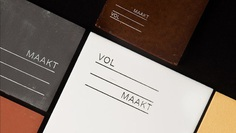 VIRGINIE ROSSEEL designed the modern and minimal brand identity for Volmaakt, social design concept based in Ghent, Belgium. For more of the most beautiful designs visit mindsparklemag.com