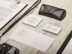 vintage identity pack - free psd #branding #mockup #psd #free #photoshop #identity #vintage #logo