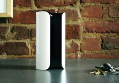 Smart Home Security Device by Canary #security #minimalist #design #system