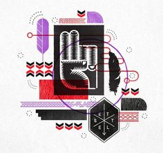 design work life » Kevin Stanley Harris #harris #texture #kevin #illustration #peace #stanley